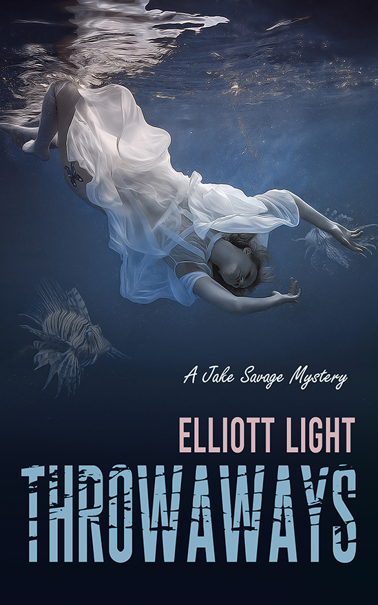 Cover Art for Throwaways by Elliott Light